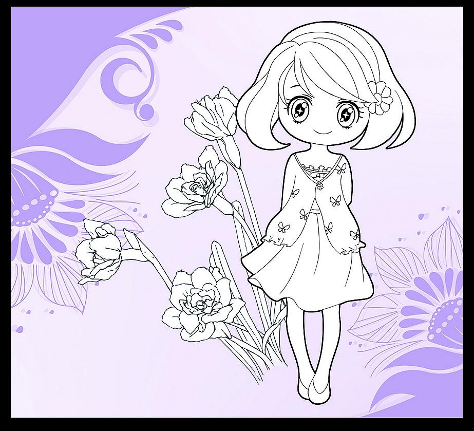 画美丽的公主仙子画_小仙子公主怎么画_小公主仙子图片