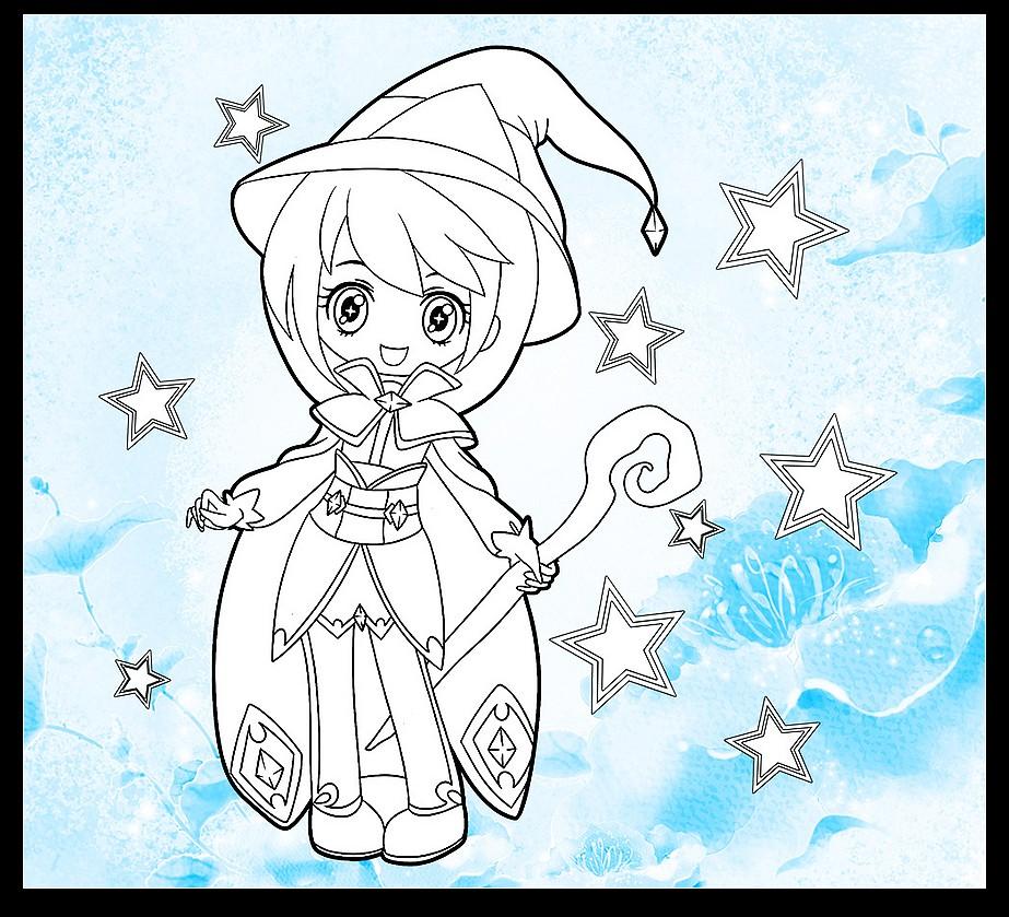 儿童 画画 女生 公主