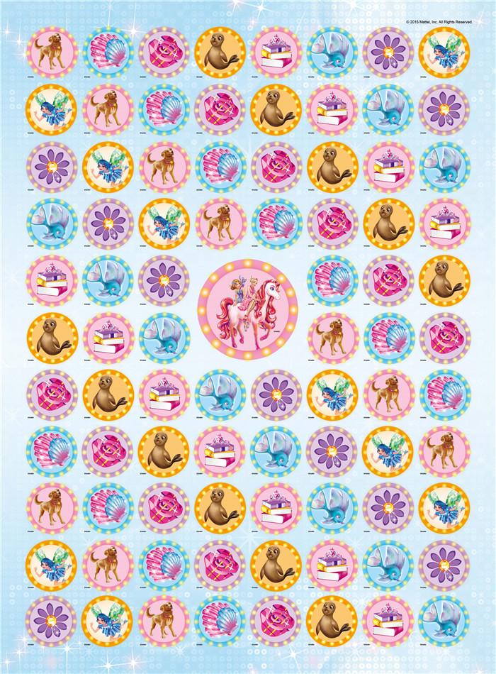 这是一套为3-8岁孩子打造的珍藏贴纸图鉴,以孩子喜爱的卡通人物芭比公主为核心,辅以丰富的益智游戏和经典故事,在孩子在全套附赠的2400张贴纸中全面了解芭比公主,提升思维力和观察力。 芭比图鉴精选女孩喜爱的相关素材,包括芭比演绎的经典电影、芭比和朋友们的职业梦想以及丰富多彩的节日趣闻。每册结合不同主题设置多样化的栏目,既有唯美奇幻的公主故事、精彩纷呈的女孩故事、趣味横生的贴纸游戏,还有贴心实用的节日攻略、丰富详实的梦想小贴士,全面解析芭比姐妹和朋友们的精彩经历,让芭比迷和公主粉们通过图书全方位感受公主世界,
