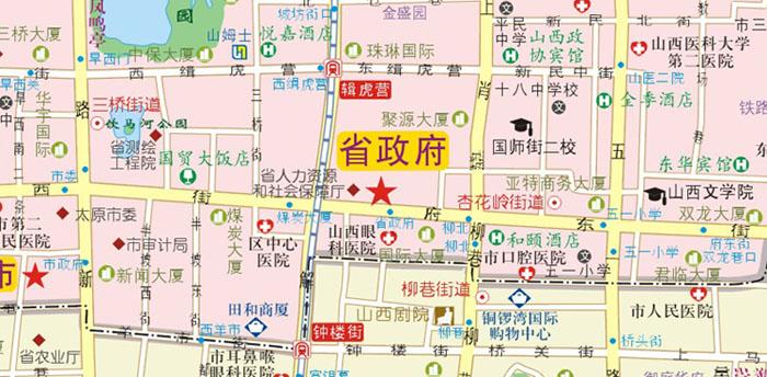 2016太原city城市地图
