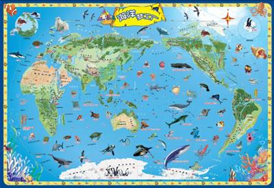迪啵儿儿童地图海洋梦工厂/21013059