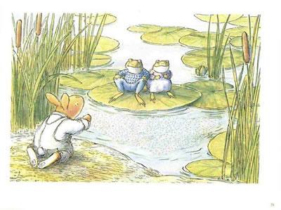 幼儿春天森林图画