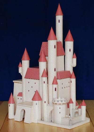 迪士尼公主全真立体城堡手工书-白雪公主的甜美城堡