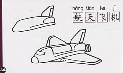 幼儿多功能蒙纸简笔画·车船飞机(注音版)