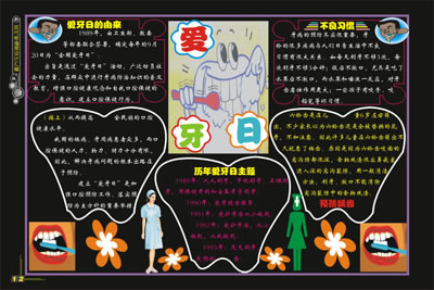 小學教室內墻報設計圖展示
