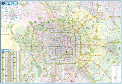 《北京地图》2012图片