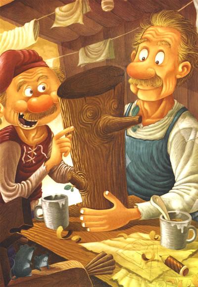 木偶奇遇记萤火虫.世界经典童话双语绘本——在线免费