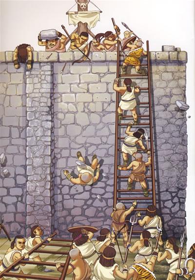 修建城墙(万里长城)