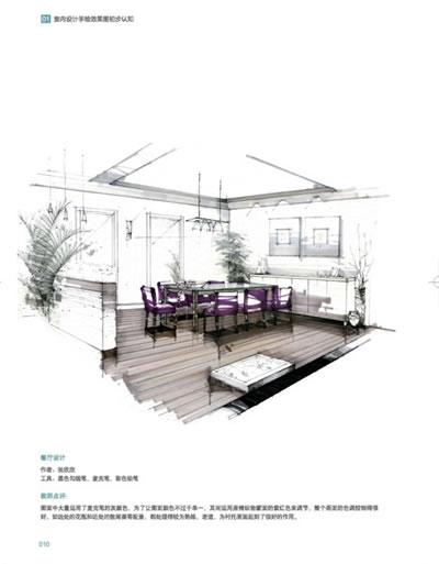 室内设计手绘效果图快速表现教程(中青雄狮)