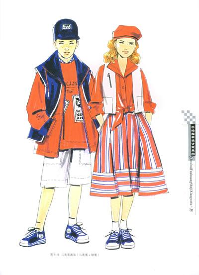 手绘服装设计效果图1——设计表现技法丛书