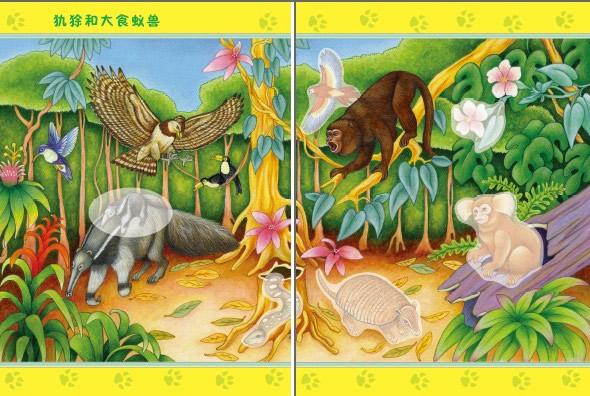 奇妙的动物世界 丛林