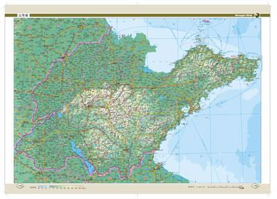 中国地图集—精装版(为庆祝中国地图出版社建社50周年