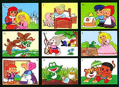 学画卡通故事3 童话故事图片