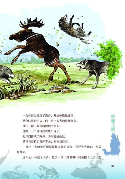 猎犬贝特森林奇遇.4:马鹿争雄