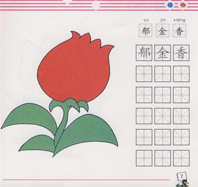 儿童简笔画入门:植物