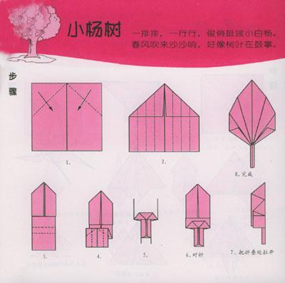 小丫头快乐儿歌折纸--植物