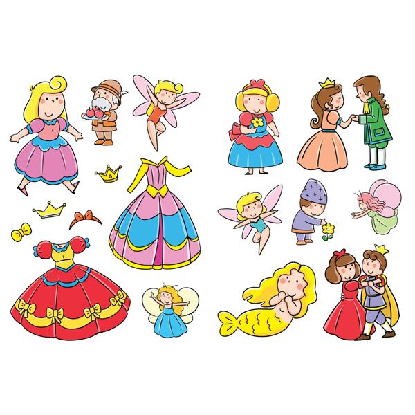撕不烂的贴纸书公主和小仙女/22577139图片